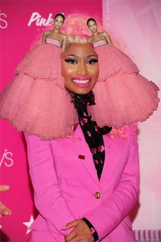 Nicki minaj pink color