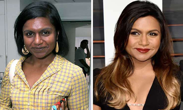 Mindy Kaling Skin Lightening