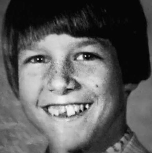 Tom Cruise in childhood